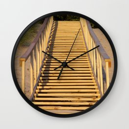 Save the Dunes - Use the Steps Wall Clock