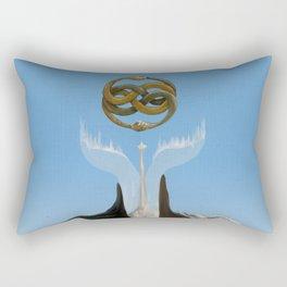 No Boundaries Rectangular Pillow