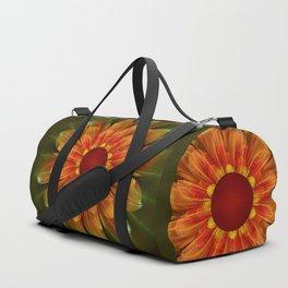 Artistic fantasy succulent flower Duffle Bag