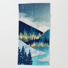 Morning Stars Beach Towel