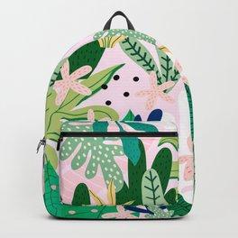 Into the jungle - sunrise Backpack