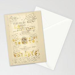 les fleurs du mal l'invitation au voyage Stationery Cards