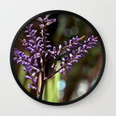 Botanical Dream of Spring Wall Clock