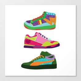 My Kicks Canvas Print