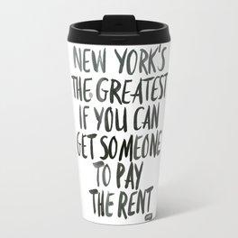New York is the Greatest Travel Mug