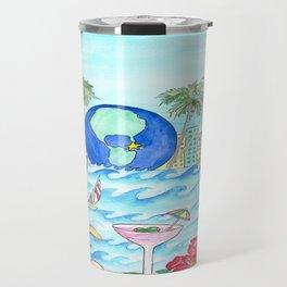 Miami Caliente! Travel Mug