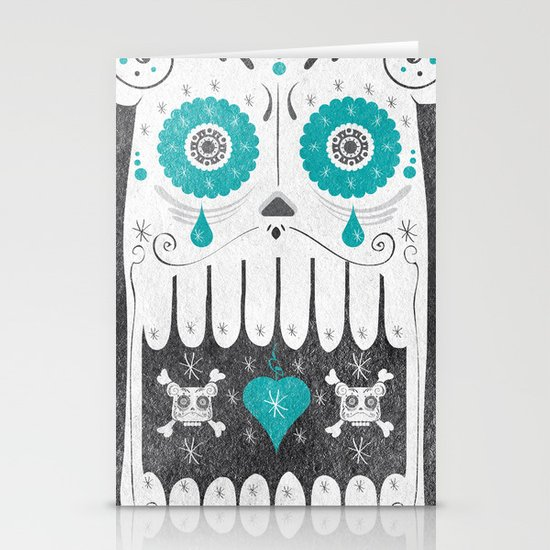 SALVAJEANIMAL MEX cuernitos Stationery Cards