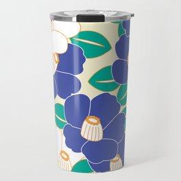 Shades of Tsubaki - Lavender & White Travel Mug