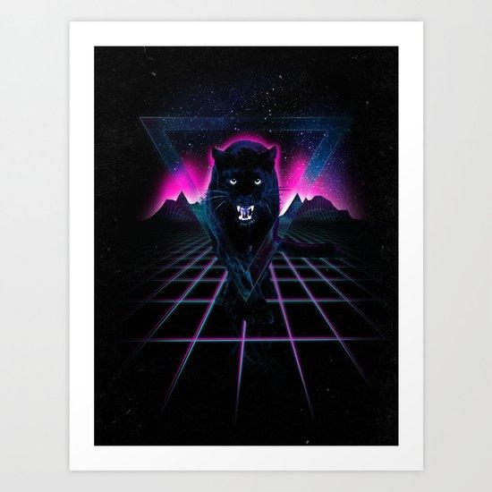 Jaguar Poster Art Print