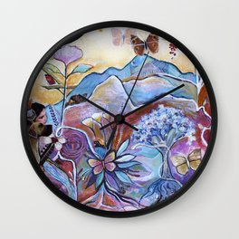 View of the Heart Wall Clock