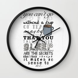One Direction: Little Things Wall Clock