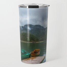 Black Lake Travel Mug