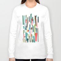 code Long Sleeve T-shirts featuring color code by frameless