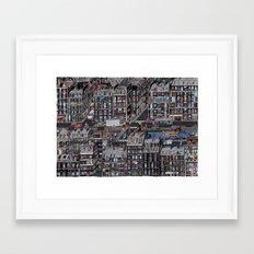 Parisian Neighbourhood Framed Art Print