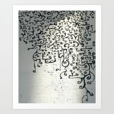 Mystik Spiral Art Print