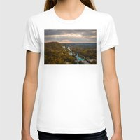 ukraine T-shirts featuring Holy Mountains Monastery (Ukraine)  by Limitless Design
