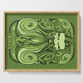 Bodacious Beard - Green Serving Tray