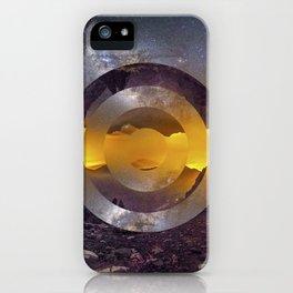 CIRCULAR LANDSCAPE iPhone Case