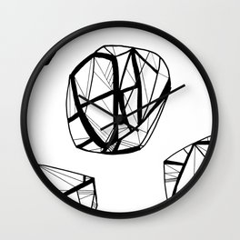 STRUCTURAL ORBES Wall Clock