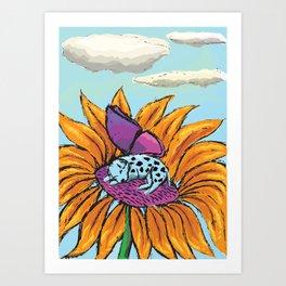 A Magical Nap Art Print
