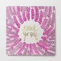 Treat Yo Self – Pink & Gold by catcoq