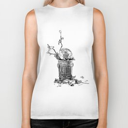The World Has Been Trashed Biker Tank