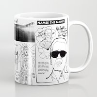 karl Mugs featuring Karl Lagerfeld by CLSNYC