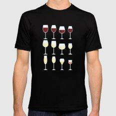 Wine Black MEDIUM Mens Fitted Tee