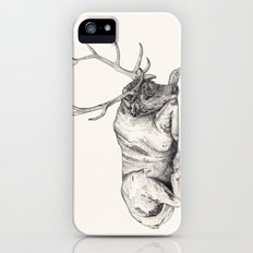 Stag // Graphite Slim Case iPhone (5, 5s)
