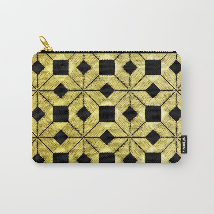 Golden Snow Carry-All Pouch