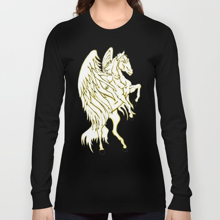 Pegasus at Sunset Long Sleeve T-shirt