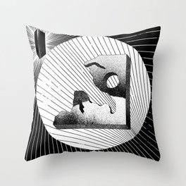 POWER BITS Throw Pillow