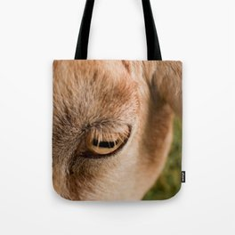 Window to a goat's soul  Tote Bag