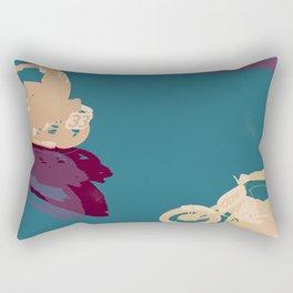 Wall of Death Rectangular Pillow