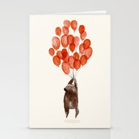 balloon Stationery Cards featuring Almost take off by Picomodi
