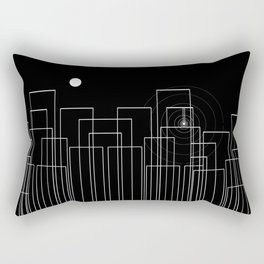 Scream in the Night Rectangular Pillow