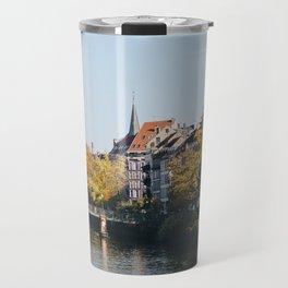 Streets of Strasbourg Travel Mug