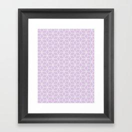 Hive Mind Light Purple #216 Framed Art Print