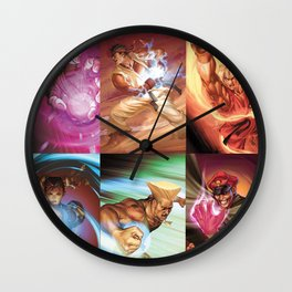 Street Fighter Favorites Wall Clock