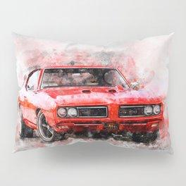 1969 GT-O - The Judge Pillow Sham