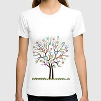 tree of life T-shirts featuring tree by mark ashkenazi