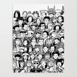 56 Peoples Poster