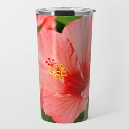 Floral collection. Hibiscus Travel Mug