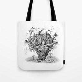 Skull Island Tote Bag