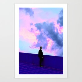 I am Lonely as a Cloud Art Print