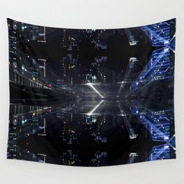 hidden citys Wall Tapestry
