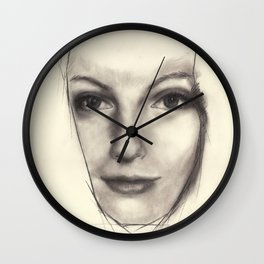 """Art Series """"Trinity"""" THE INTRODUCTION - KEEPER OF LOCI Wall Clock"""