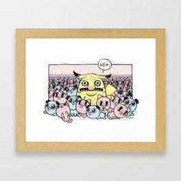 Weh Framed Art Print