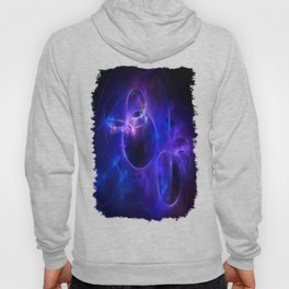 Blue and Purple Circles 1 Hoody