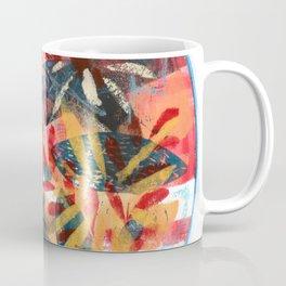 Circular Semi Abstract Foliage Coffee Mug